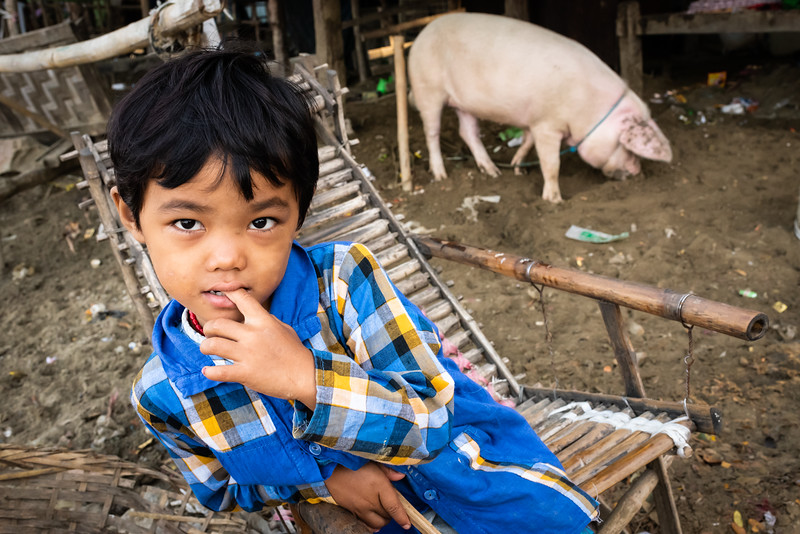 Mingun Jetty, Mandalay, Myanmar. 2018