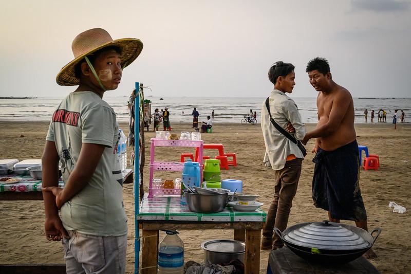 Chaung Tha, Myanmar. 2019