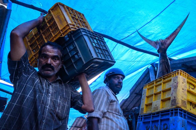 Ernakulam Market, Kochi, India. 2020