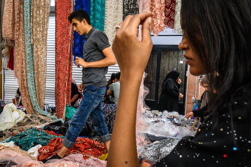 Fatih Market, Istanbul, Turkey. 2019