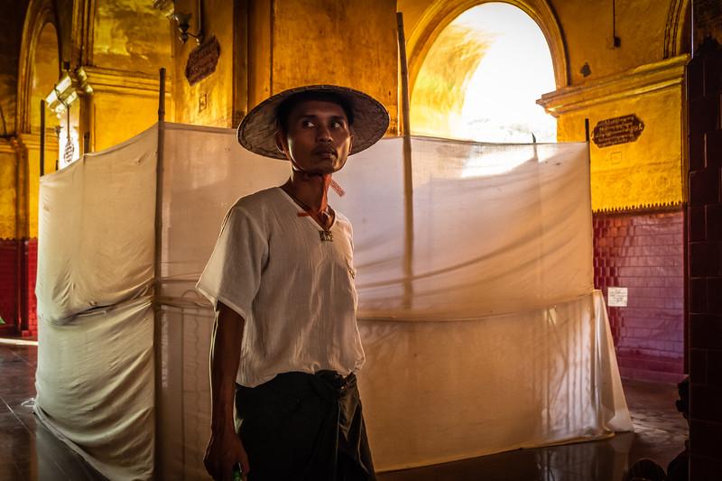 Mahamuni Image complex, Mandalay, Myanmar. 2018