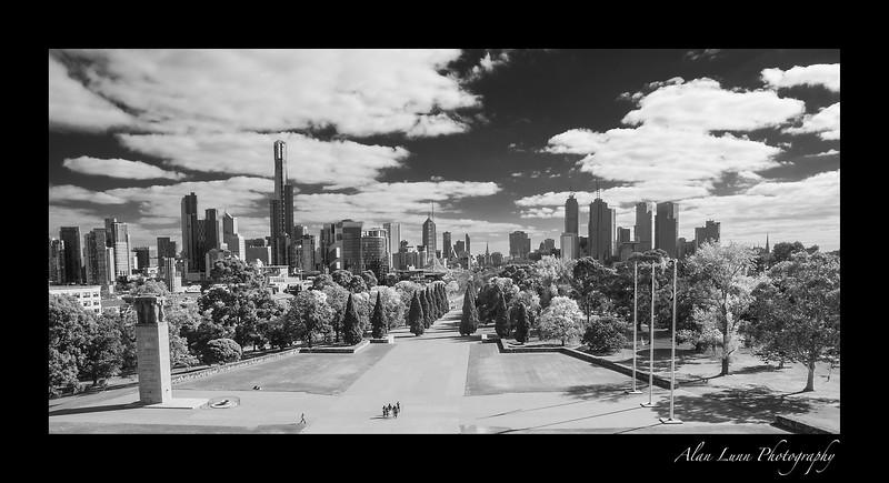 """Melbourne Skyline"""