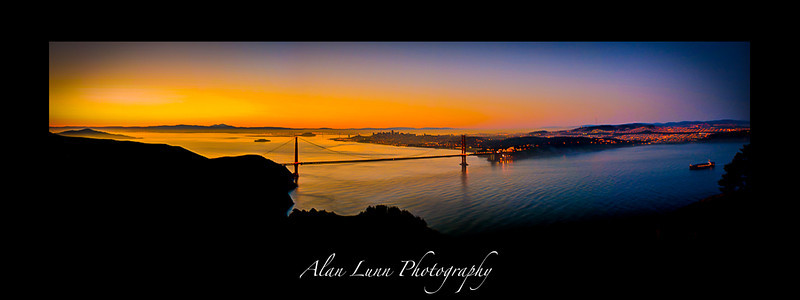 """Daybreak over The City by the Bay"""