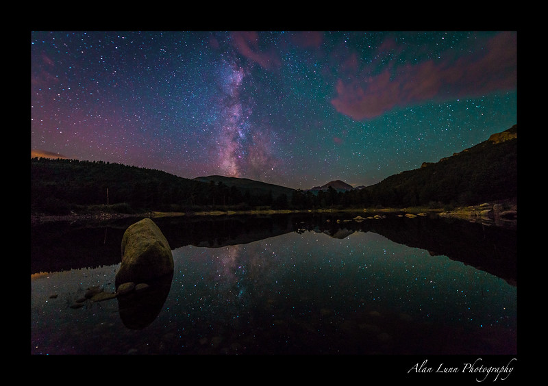 """Milky Way over the Rockies"""