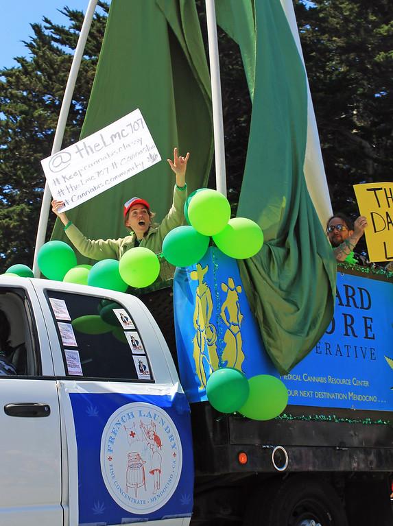 . Leonard Moore Cooperative represented the cannabis community.