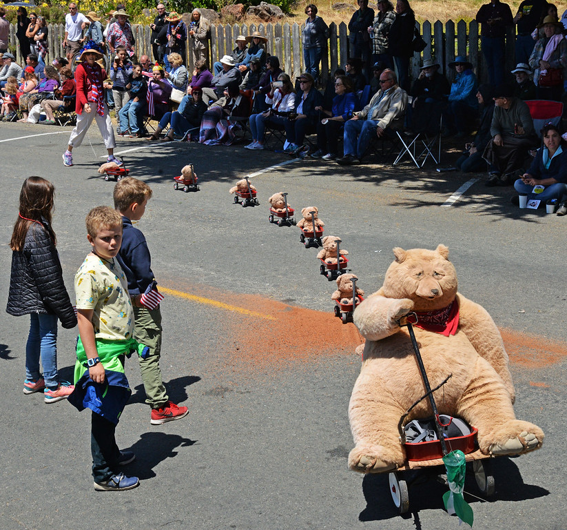 . Teddy Bear train.