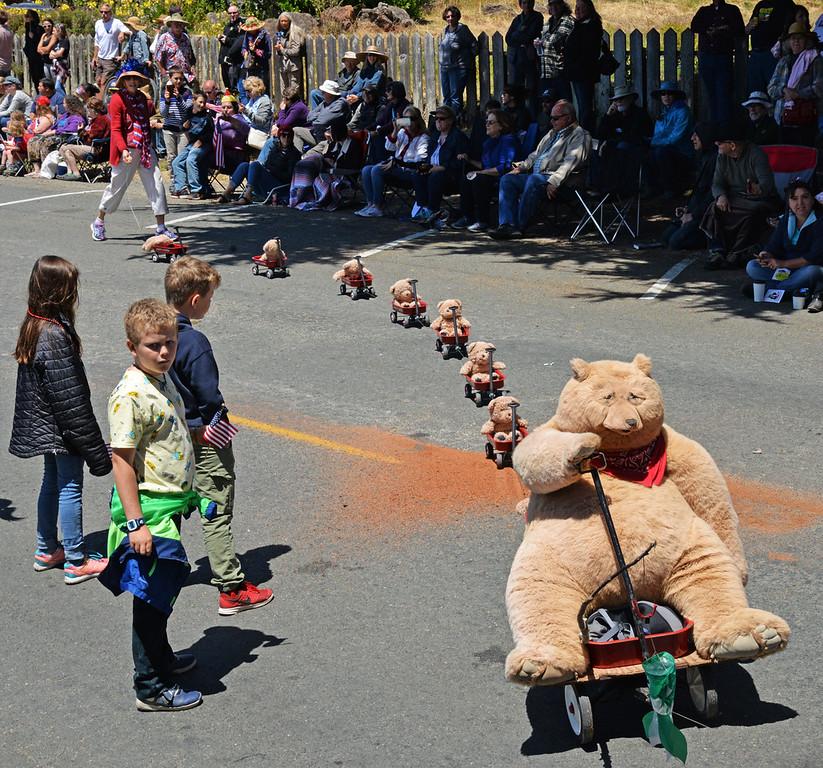 . Teddy Bear train.