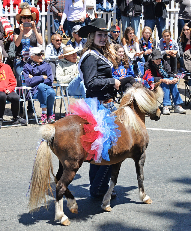 . Shoreline Riders Rodeo Queen contestant Joey Beak. The Shoreline Rodeo is Aug. 11-12 at the Shoreline Riders arena on Turner Road (just south of Fort Bragg).