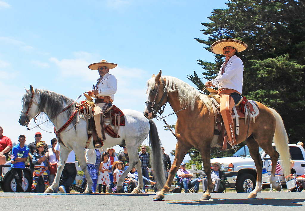 . The Vaqueros won first prize in the animal category.