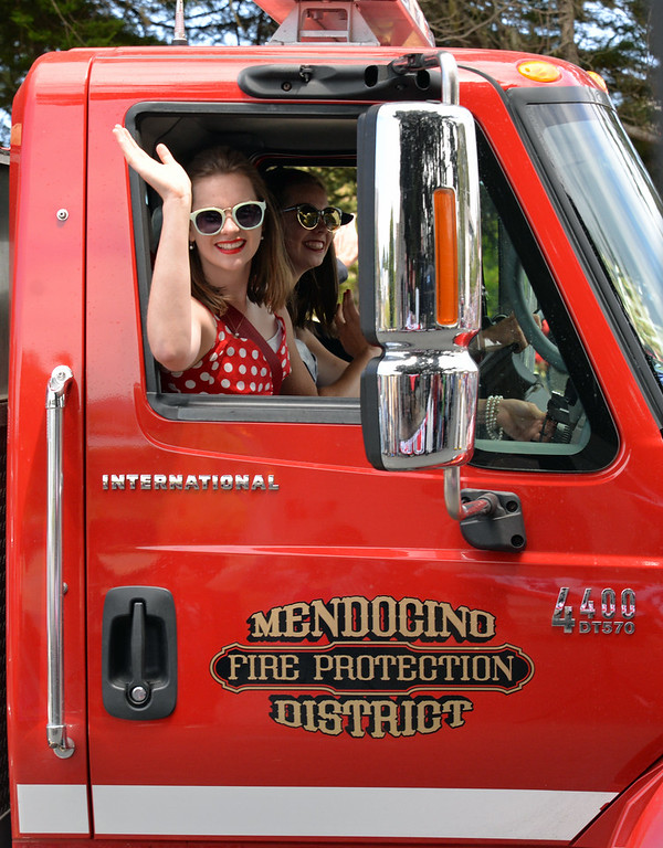 . The Mendocino department was once again a gracious host.