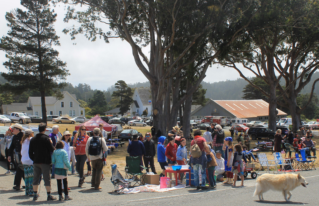 . Rotary Park featured face-painting, snack booths and a post-parade puppet show.