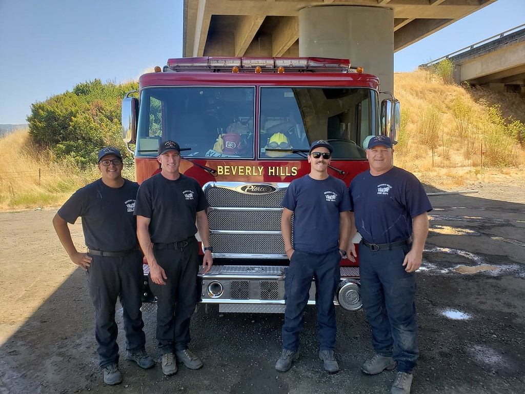 . Beverly Hills FD in Ukiah 080318-M Kelly
