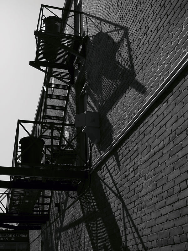 Stairs and Shadows, Queen Street, Toronto