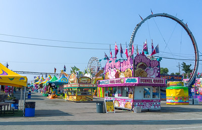 Early Morning at the Midway