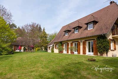 Europe, France, Giverny.  Clos de Fleur bed and breakfast.