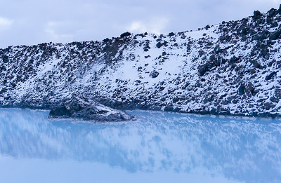 Blue Lagoon Reflections