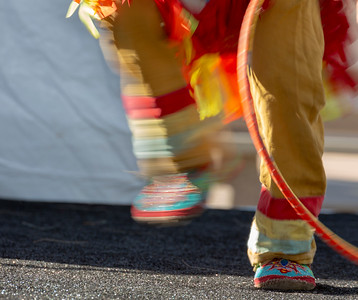 Dancing Feet in Motion