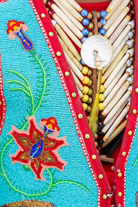 Native American Regalia Details