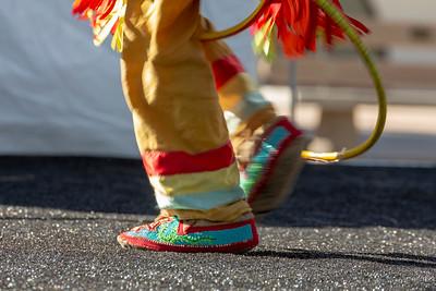 Hoop Dancer's Feet