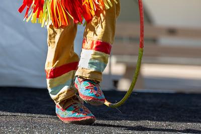 Dancing feet and Hoop