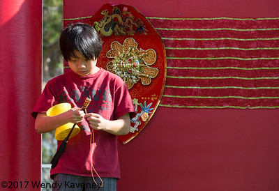 Boy with Chinese Yo-Yo