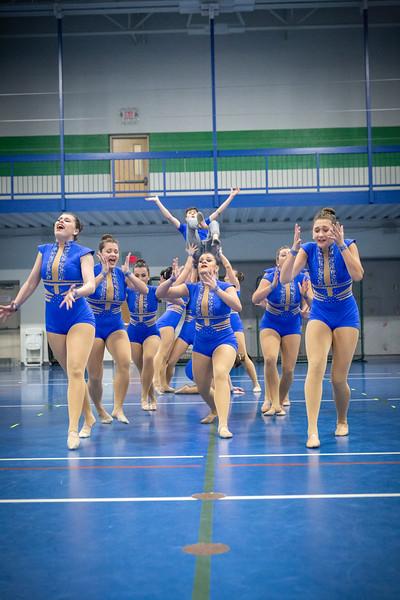 1-16-19 Dance Team - Send-Off