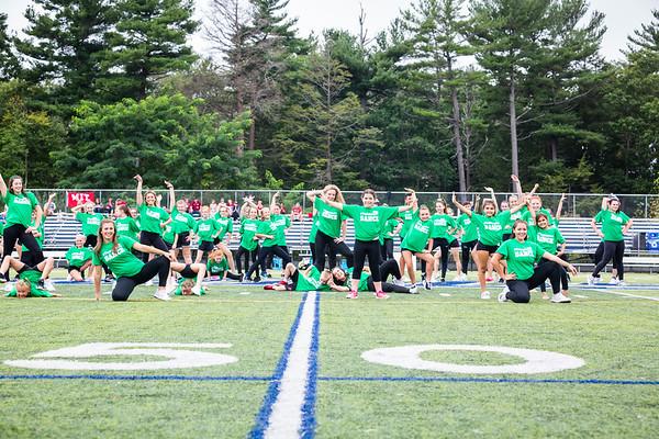 9-15-18 Dance Team - FB vs MIT