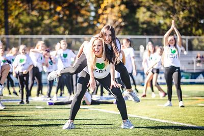 Endicott College Football takes on Curry College at Hempstead Stadium on October 12th, 2019.