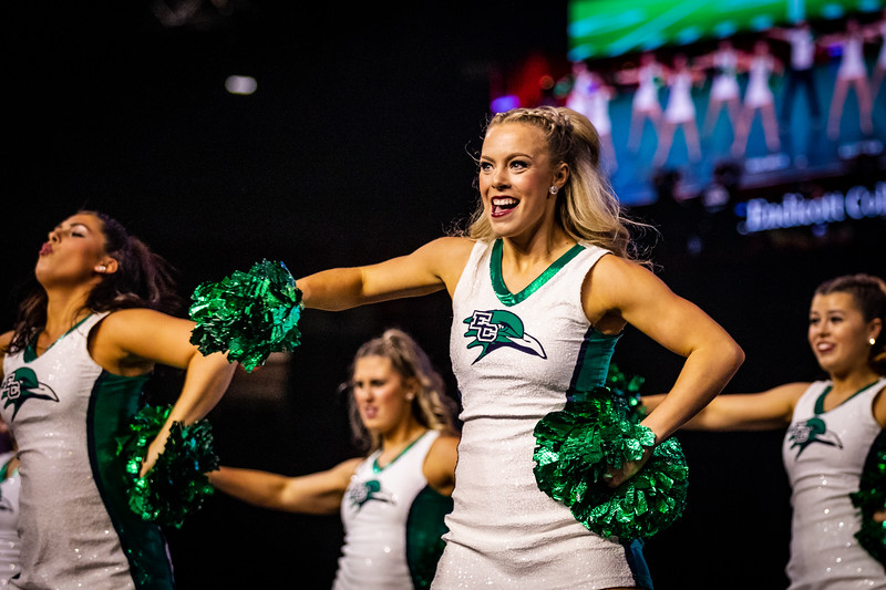 The Endicott College Dance Team competes at the UDA Nationals competition for the Game Day category, at ESPN Wide World of Sports in Orlando, FL on January 17th, 2020.