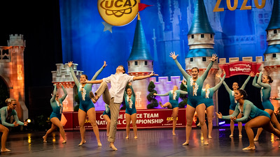 The Endicott College Dance Team competes at the UDA Nationals competition in the Open Jazz category, at ESPN Wide World of Sports in Orlando, FL on January 17th, 2020.