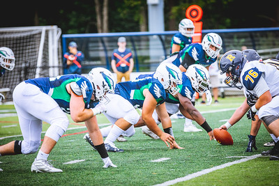 Endicott College Football takes on University of Rochester Yellowjackets at Hempstead Stadium on September 13th, 2019.