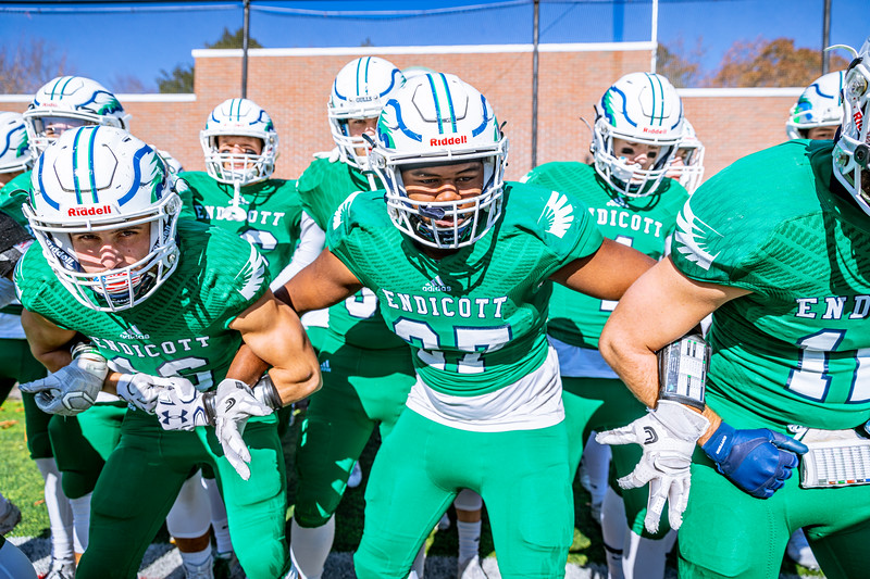 Endicott College Football takes on the UNE Nor'Easters and holds their senior day on November 9th, 2019.