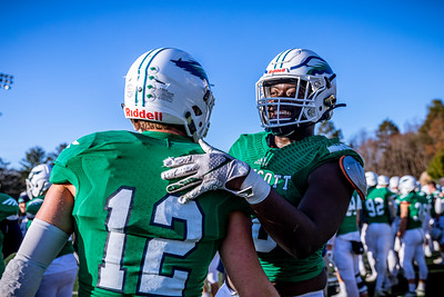 Endicott College Football takes on the Dean College Bulldogs at Hempstead Stadium for the New England Bowl on November 23rd, 2019.