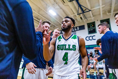 Endicott College Men's Basketball takes on the MIT Engineers at MacDonald Gymnasium on November 13th, 2019.