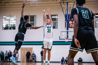 Endicott College Men's Basketball takes on the Nichols College Bison at MacDonald Gymnasium on January 28th, 2020.