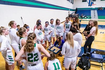 Endicott College Women's Basketball takes on the Bridgewater State Bears at MacDonald Gymnasium on November 13th, 2019.