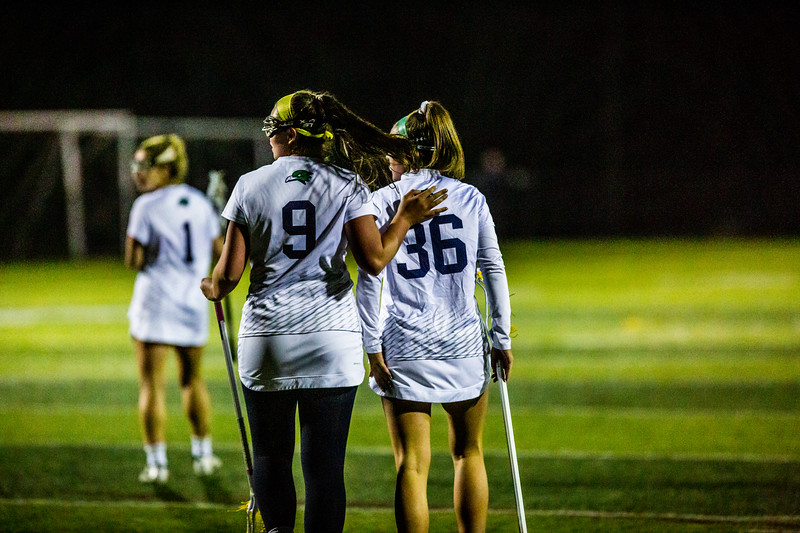 Endicott Women's Lacrosse takes on the Roger Williams Hawks for the CCC Championship at Hempstead Stadium on on May 3rd, 2019.