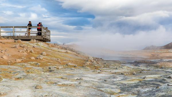 Hverarondor Hverir Geothermal area, near Lake Myvatn