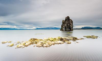 Hvítserkur rock,