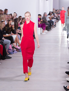 Red Dress - Yellow Shoes