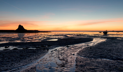 Lindesfarne Bay Sunrise