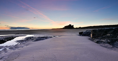Bamburgh Castle Sunrise