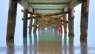 Under the Misty Jetty