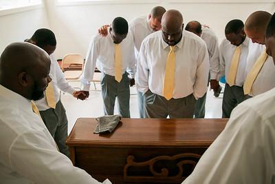 Black Men Pray