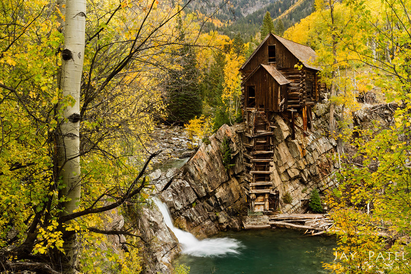 Crystal Mill, Colorado (CO), USA