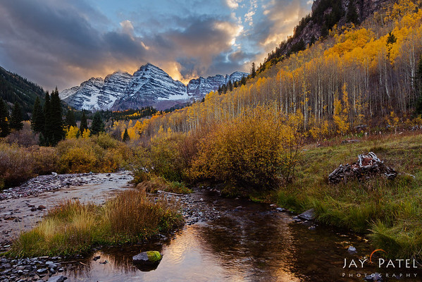Maroon Bells, Colorado (CO), USA