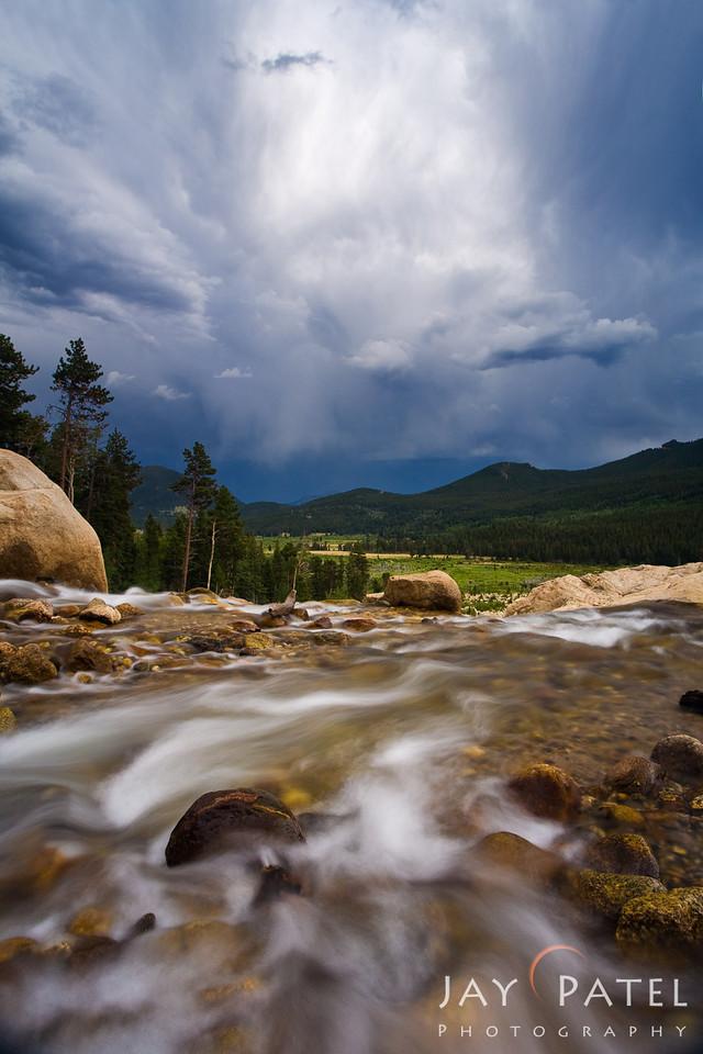 Alluvial Fan, Rocky Mountain National Park, Colorado (CO), USA