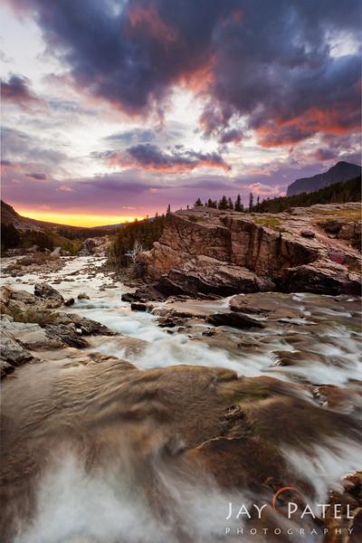 Many Glaciers, Glacier National Park, Montana (MT), USA
