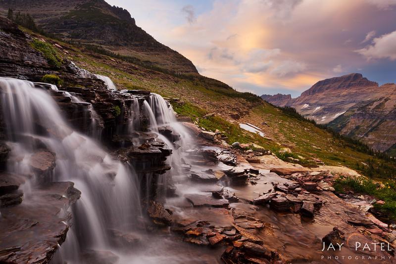 Logan Pass, Glacier National Park, Montana (MT), USA