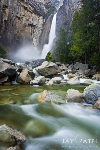 Lower Yosemite Falls, Yosemite National Park, California (CA), USA